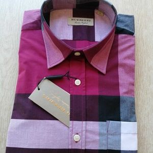 BURBERRY LONDON PLOM PINK NEW WITH TAGS TRUE SIZE